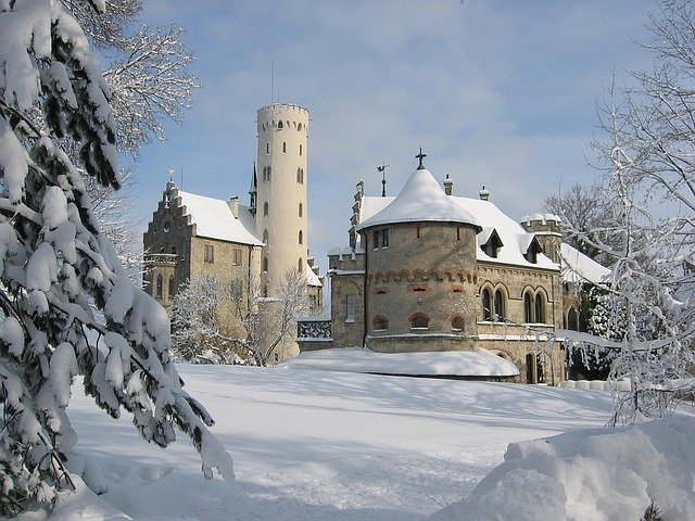 hrad v Lichtenštejnsku