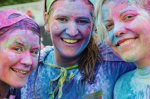barevné holky