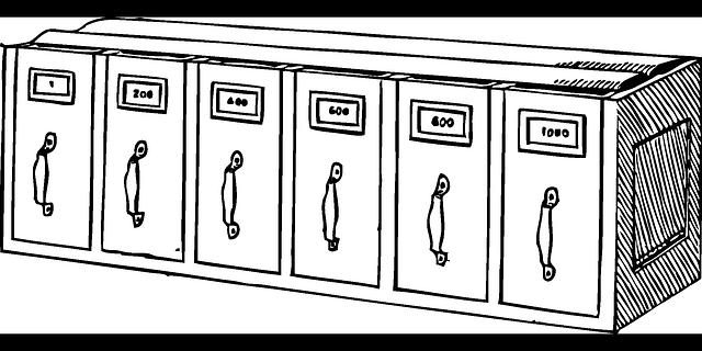 kancelářksá kartotéka