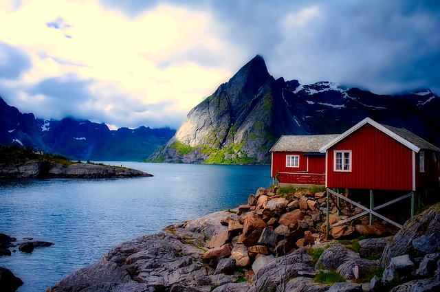 chalupa v Norsku