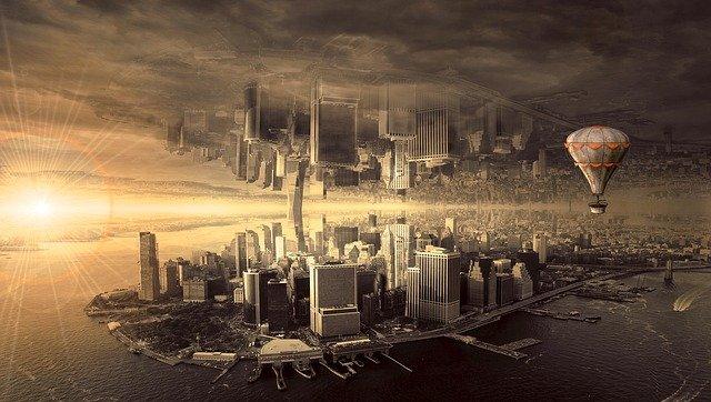 fantazie města