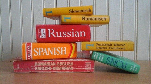 sbírka slovníků