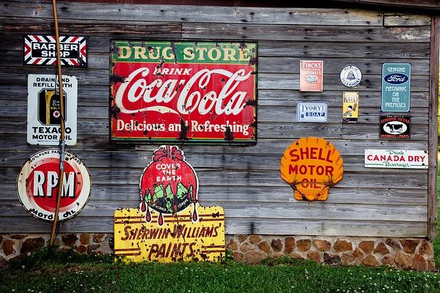 značky, reklamní poutače