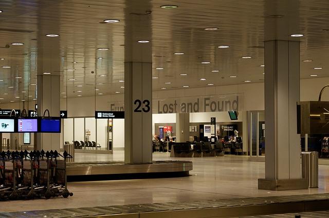 Ztráty a nálezy na letišti