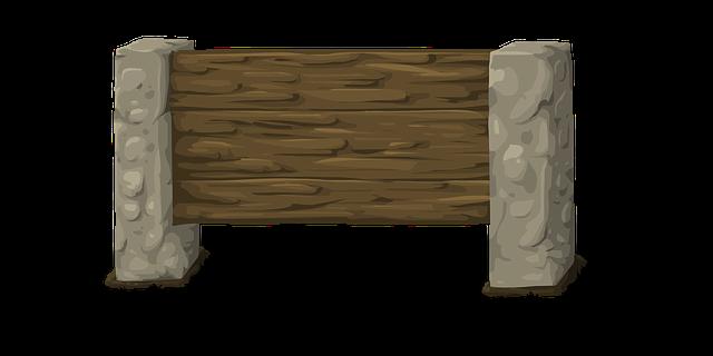 beton a dřevo