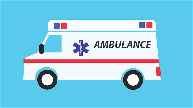 ambulance na cestě